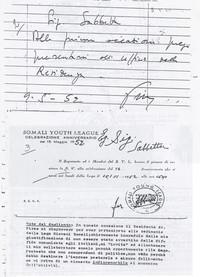 Diario Invito a presentarsi per delucidazioni sulla partecipazione di Sabbetta alla Manifestazione della Lega Giovani (12° Condanna a vita senza processo)