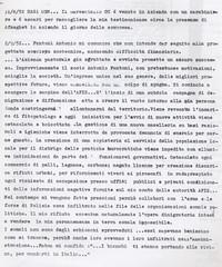 Diario Il potere crea terra bruciata intorno a Sabbetta (12° Condanna a vita senza processo)
