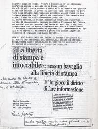 Censura sulla vicenda storica di Tormancina pg.2 (12° Condanna a vita senza processo)