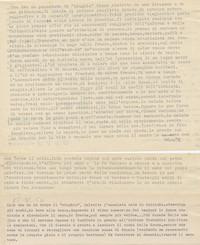 Diario. Pratiche d'esorcismo e  di guarigione da parte del Santone della Somalia (13° Usi e costumi nella Somalia del'900)