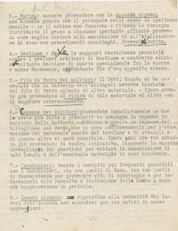 pg. 2 Maymone comunica a Sabbetta che non può essere presente nella Tenuta di Tormancina ma a distanza gli dà le direttive sulla conduzione dell'Azienda (14° IO & Maymone)
