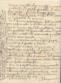 pg. 2 Accorato appello di Maymone che chiede a Sabbetta di salvare il bestiame che ha un enorma valore scientifico poichè di alta genealogia (14° IO & Maymone)