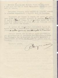 pg. 2 comunicazione dei salvacondotti ottenuti per salvaguardare la Tenuta (14° IO & Maymone)