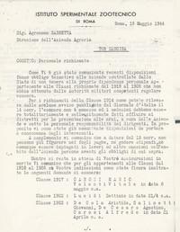 L'Istituto comunica i nominativi del personale richiamato pg 1 (14° Io & Maymone)