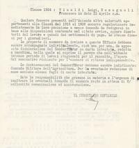 L'Istituto Comunica i nominativi del personale richiamato pg. 2 (14° Io & Maymone)