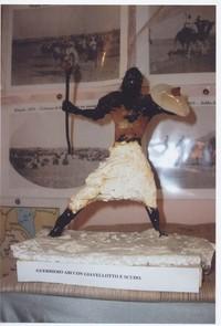 Statua allegorica realizzata da Paolo Sabbetta  (13°Usi e costumi nella Somalia del 1900)