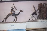 Statua allegorica realizzata da Paolo Sabbetta