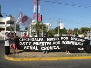 Manifestazione nel centro di Managua ©(Foto G. Trucchi)