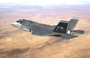 Cacciabombardiere F-35 della Lockeed Martin (Joint Strike Fighter)