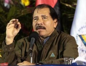 Il presidente Ortega durante il suo intervento (Foto CCC)
