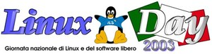 Logo del Linux Day 2003
