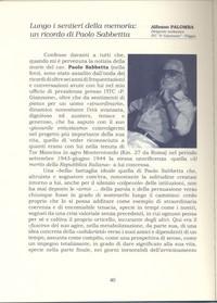 """""""L'Albatro"""" rivista culturale dell'I.T.C.  Giannone di Foggia- ottobre 2008 pg. 1"""