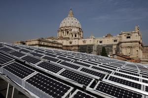 Impianto fotovoltaico in Vaticano