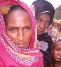 Una donna somala