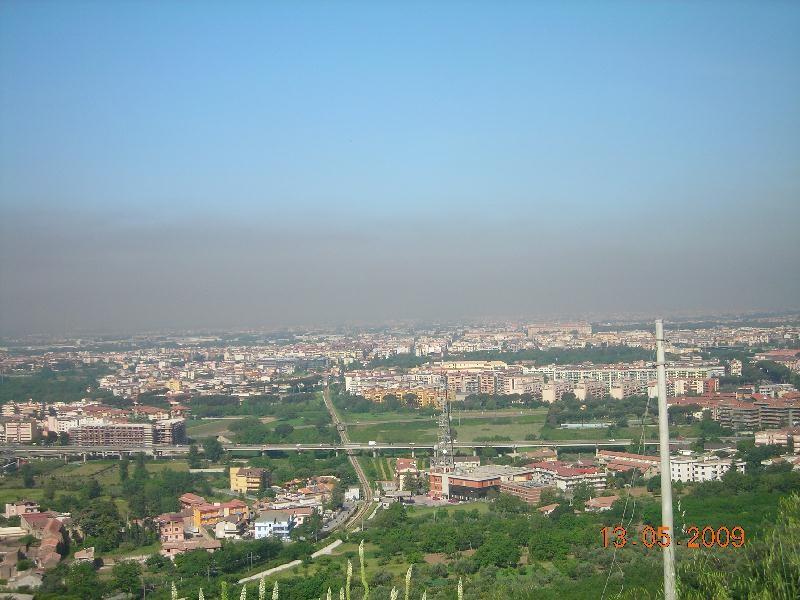 Nube tossica su Caserta