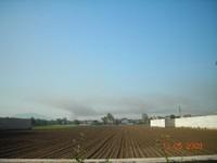 Nube tossica su Casetta: foto da San Marco Evangelista