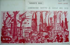 rivista TARANTO OGGI , 1960 circolo culturale Italsider