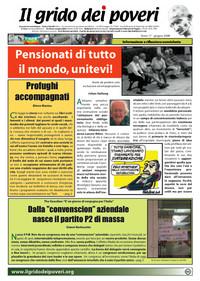IL GRIDO DEI POVERI (mensile di informazione e riflessione nonviolenta) giugno 2009