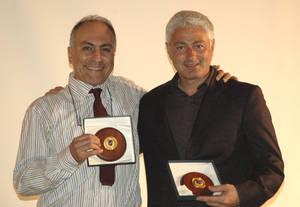 Alessandro Marescotti (PeaceLink) e Pier Paolo Cito (Associated Press)