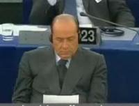 Berlusconi al Parlamento europeo il 2 luglio 2003
