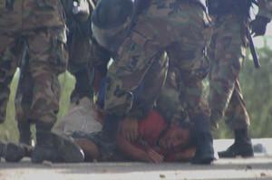 Repressione della protesta (flickr.com)