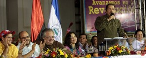 Daniel Ortega annuncia la decisione del Venezuela (Foto CCC)