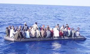 Immigrati barcone