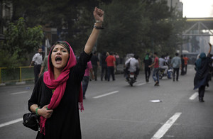 """Libertà"". Proteste in Iran"