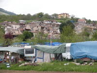 San Gregorio, una delle frazioni di L'Aquila colpite dal sisma del 6 aprile.