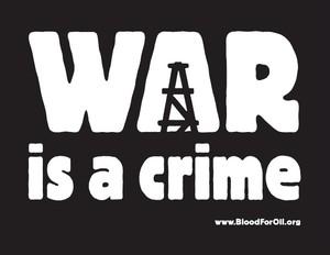 La guerra è un crimine