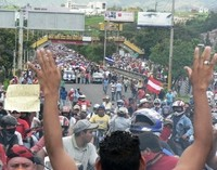 La gente è scesa nuovamente nelle strade (Foto G. Trucchi)
