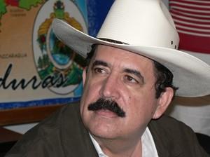 Manuel Zelaya Rosales, presidente dell'Honduras © (Foto G. Trucchi)