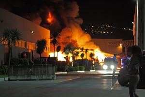 L'incendio alla Seab