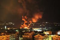 WWF sull' incendio Seab: rischi per la salute umana