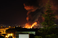 Incendio SEAB: il WWF divulga la nota dell'ARTA con l'elenco degli inquinanti in acqua e in aria.
