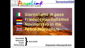 Giornalismo di pace, il power point di PeaceLink