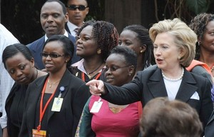 Clinton in Africa