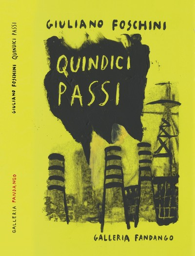 """La copertina del libro """"I quindici passi"""" di Giuliano Foschini"""