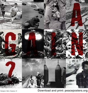 Again? Mark Kaaawa http://www.peaceposters.org/