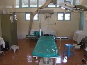 La sala operatoria dell'ospedale di Mapuordit