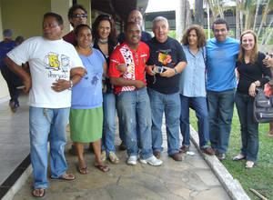 """Alla festa dei bambini del """"bairro Alterosa"""" a Betim (Minas Gerais) il 10.10.2009"""