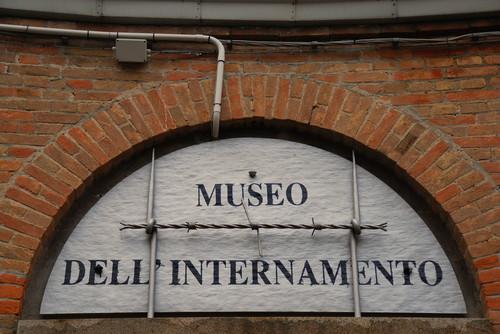 Padova,il Tempio dell'Internato Ignoto,l'ingresso del museo