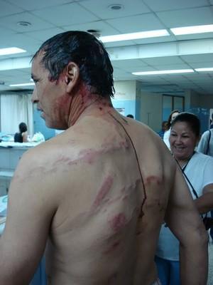 Repressione in Honduras (Foto defensoresenlinea.com)