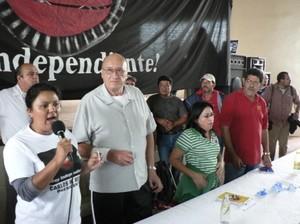 Carlos H. Reyes si ritira dal processo elettorale © (Foto G. Trucchi)