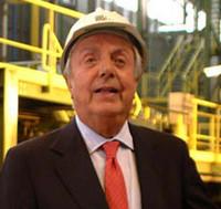 Tolto il microfono ad un giornalista scomodo. Succede durante l'intervista a Emilio Riva, proprietario della più grande acciaieria d'Europa