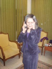 "La ""First Lady"" Hero Talabani a colloquio con Paolo Morello (marzo 2006)"