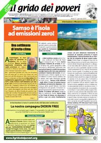 IL GRIDO DEI POVERI (mensile di informazione e riflessione nonviolenta) gennaio 2010