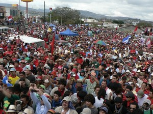 Mobilitazione del 27 gennaio 2010 a Tegucigalpa © (Foto G. Trucchi)