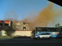 Fuoriuscita di nubi dall'impianto di depolverazione dell'Ilva