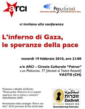 Locandine e manifesti di appuntamenti pacifisti e ambientalisti in Abruzzo e dintorni